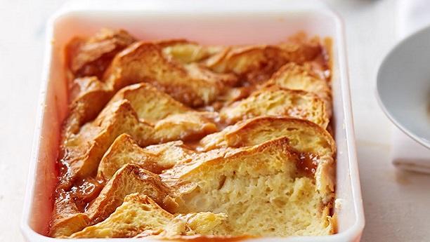 Irish Toffee Bread & Butter Pudding Recipe