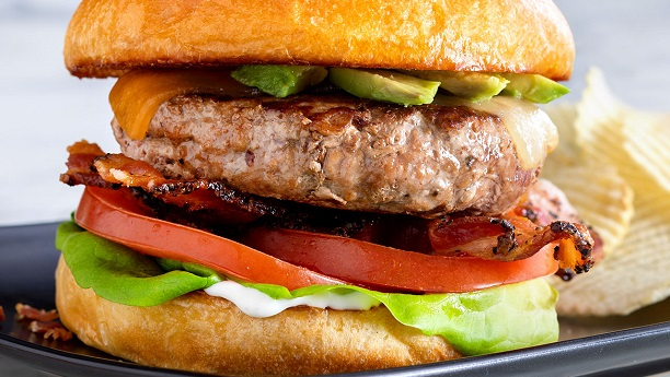 Italian Ranch Turkey Burger