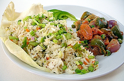 Jhat Pat Vegetable Fried Rice