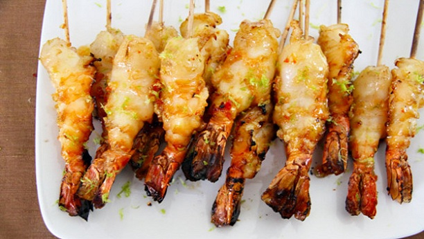 Jumbo Thai Chilli Prawns