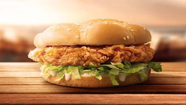 KFC Zinger Burger Recipe