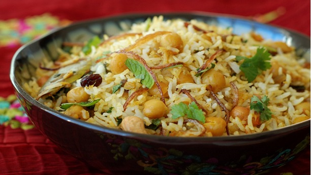 Kabuli chana ki biryani Recipe