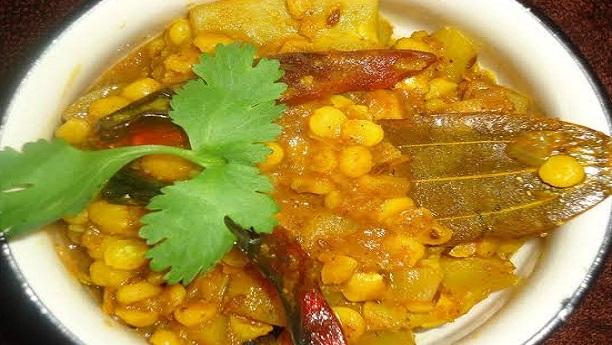 Kaddu Wali Daal Recipe