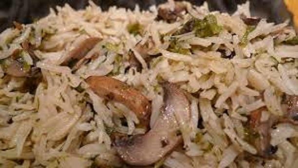 Kanguchi Pulao (Mushroom pulao)