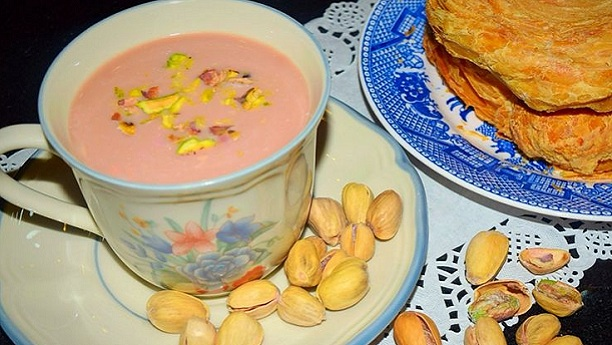 Kashmiri Chai By Chef Fauzia Recipe