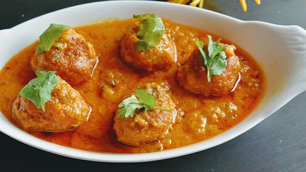 Kashmiri Meatballs Curry Recipe