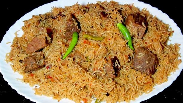 Kashmiri Yakhni Biryani Recipe