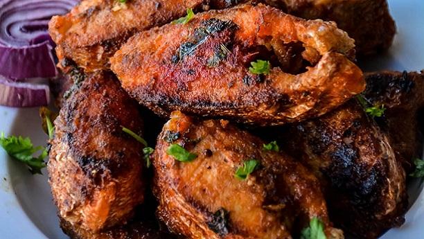Kerala Fish Masala Fry