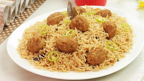 Kofta Briyani Recipe