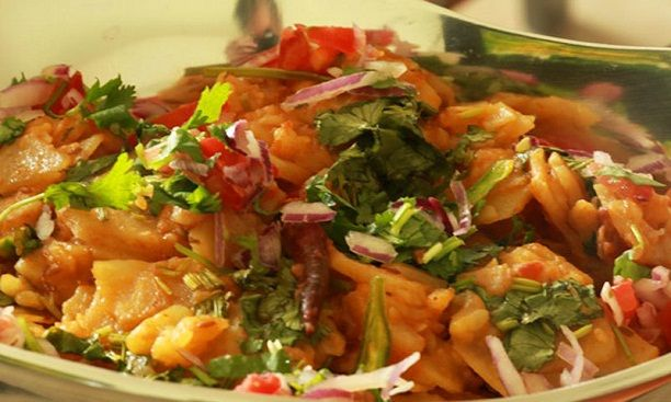 Lahori Chana Chaat Recipe