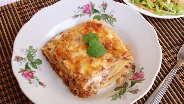 Lasagna By Chef Fauzia Recipe