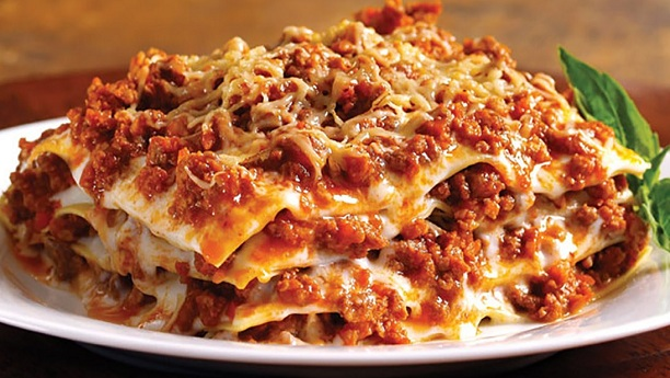 لزانیا پاستہ<br/>Lasagne Pasta