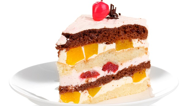 Layered Fruit Cake By Shireen Anwar