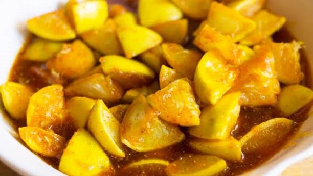 Lemon Achar Recipe