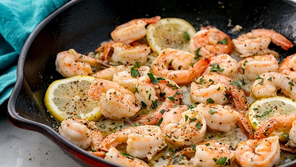 Lemon-Garlic Shrimp