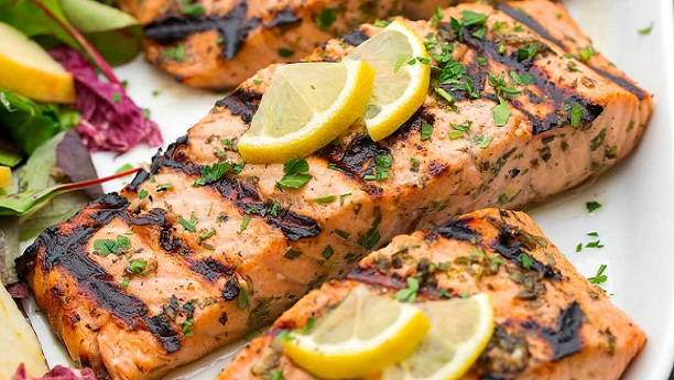 Lemon herbed grilled fish