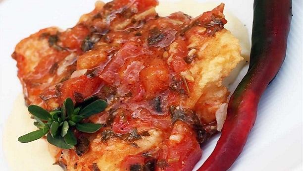 لبنانی تندوری مچھلی