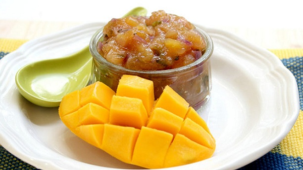 Mango Pineapple Chutney Recipe