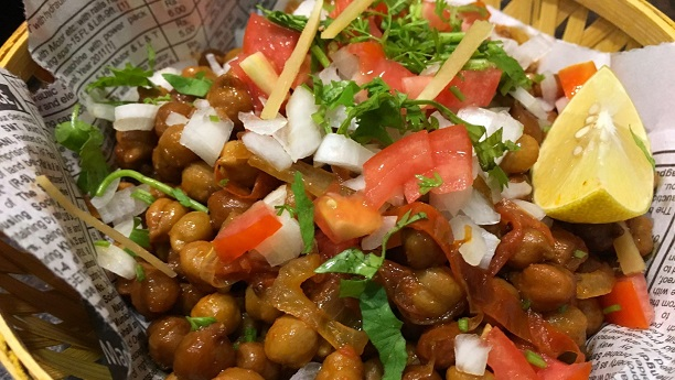 Masala Chana Chaat