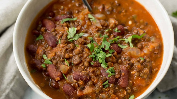 Masala Chili Lentils   Recipe