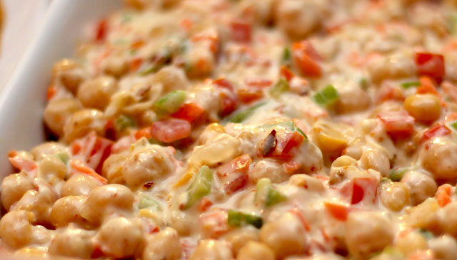 Mayonnaise Chana Chaat