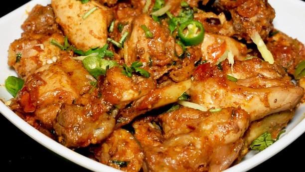 Mazeydar Chicken Karahi