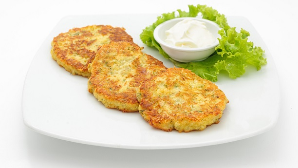 Meat and potato cutlets