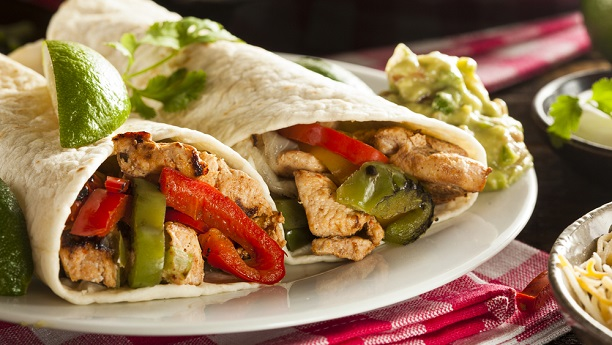 Mexican Fajita with Salsa Recipe