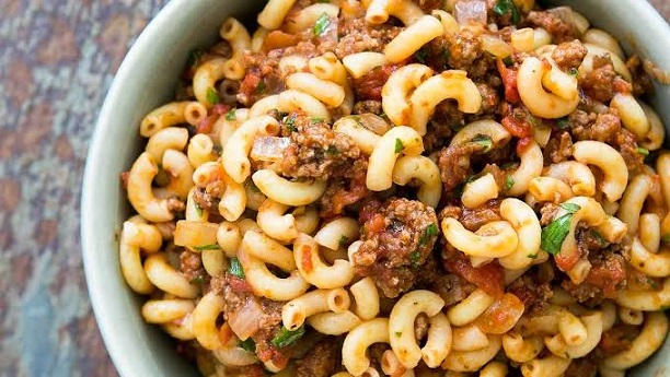 Minced Meat Macaroni