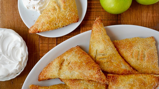 Mini Apple Triangles
