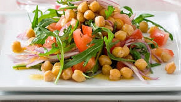 Moroccan Tomato And Chickpea Salad