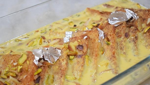 Mughlai Shahi Tukday Recipe