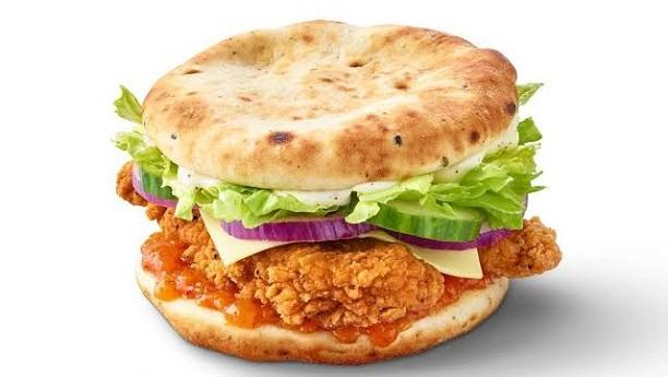 مرغی کے نان برگر