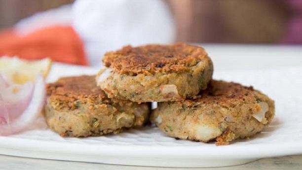 Mushroom & Chick Pea Shami Kebab