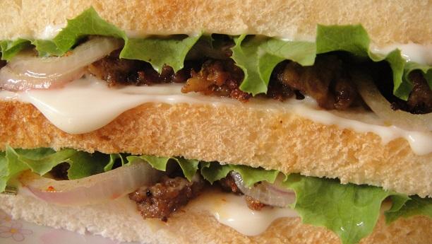Mutton/Lamb Sandwich