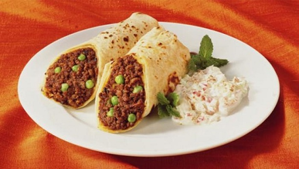 Mutton Paratha Roll