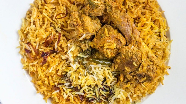 Oriental Biryani (Savoury Meat Rice) Recipe