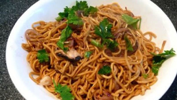 Oriental Noodles And Vegetable