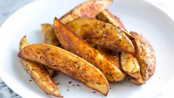 Oven Crisp Potato Wedges