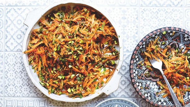 PERSIAN CARROT SALAD Recipe