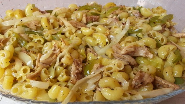 Pakistani Chicken Pasta