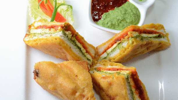 Pakora Sandwich Recipe