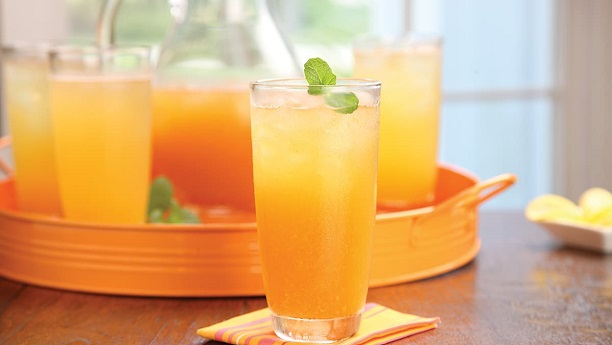 Peach Mint  Recipe