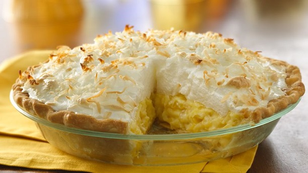 Pineapple Cream Chees Pie