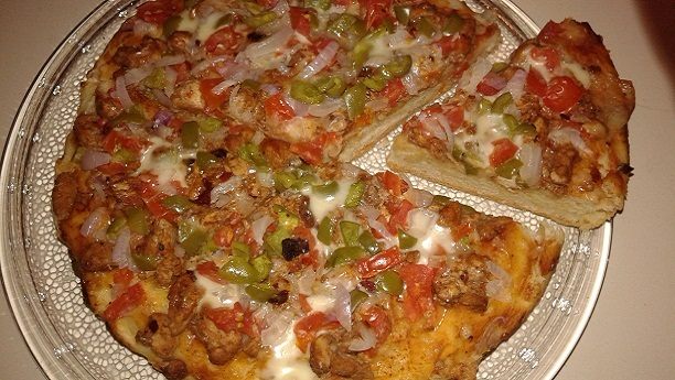Pizza Without Oven Recipe