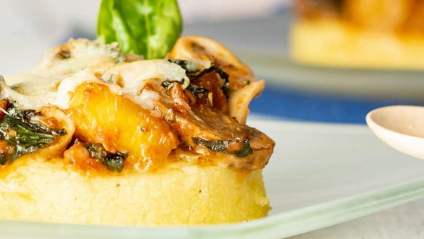 Polenta baked vegetables with cheese recipe in urdu - Baked polenta cheese recipes ...