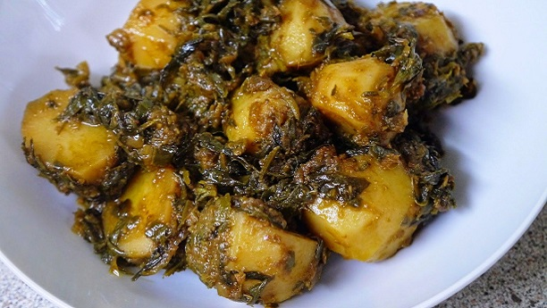 Potato and Methi
