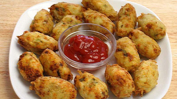 Potato paneer tots Recipe