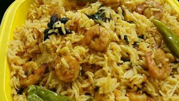 Prawn Paneer Pulao Recipe