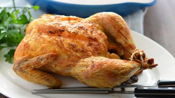 ROASTED PAN CHICKEN & GRAVY Recipe